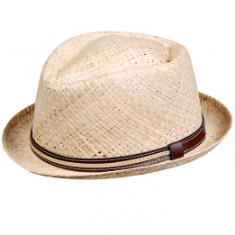 Chapeau Carpino Raphia Naturel