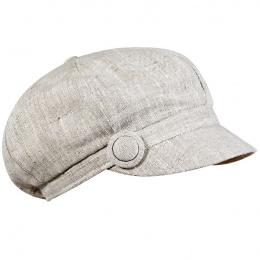 Button beige Gavroche cap