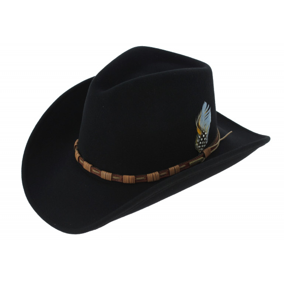 Cowboy hat - KEELINE Noir
