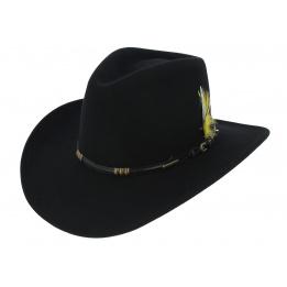 Western Vitafelt BUFFALO Stetson Black Hat