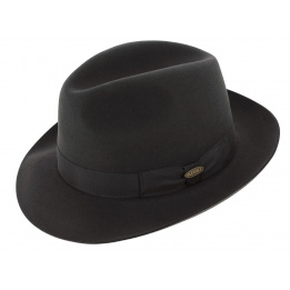 Chapeau fedora  Bogarte Noir- Flechet
