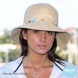 Chapeau Cloche Bohemian Naturel-Marron