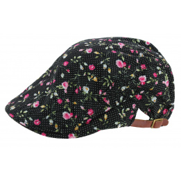 Cap Ana Lysa purple cotton