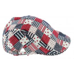 Casquette Réglable Lubbock Patchwork Coton - Aussie Apparel