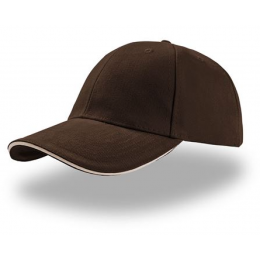 CASQUETTE BASEBALL LIBERTY MARRON