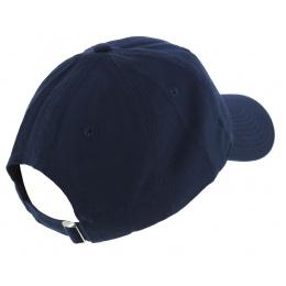Casquette Strapback Indie Navy Coton Bleu - Official