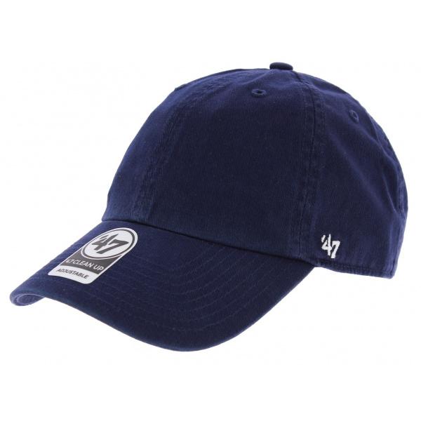 Baseball cap Strapback Blank Navy Cotton