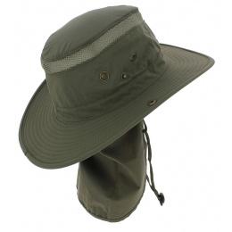 Chapeau bermudes couvre-nuque olive