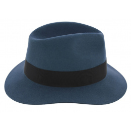 Chapeau Traveller Fury Feutre Poil Bleu - Stetson