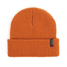 Heist Orange Knit Cap- Brixton