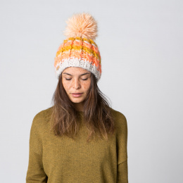 Bonnet  Pompon Feather Beanie- Barts