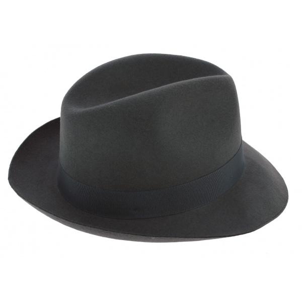Borsalino Vanzina Anthracite Hat