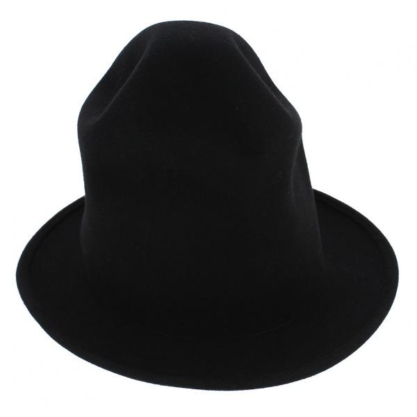Chapeau Williams Feutre Laine Noir - Traclet