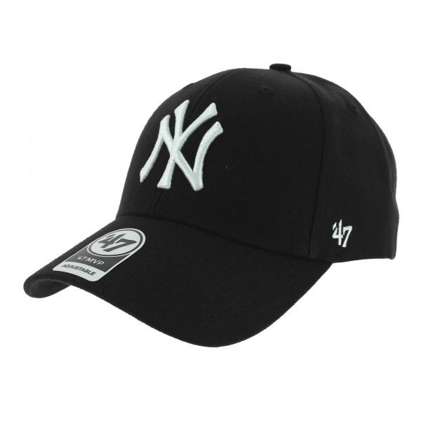 Snapback Yankees NY Wool Cap Black - 47 Brand