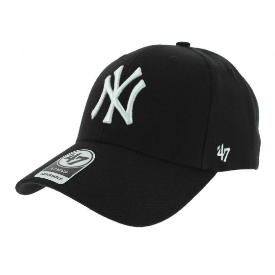 Yankees NY Wool Snapback Cap Black - 47 Brand