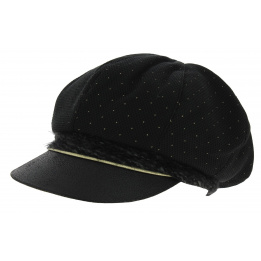 Cap Gavroche Zerin Black Cotton - Mtm