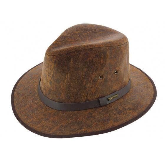 Chapeau stetson cuir Mantoa