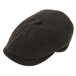 Casquette Herringbone galaxy cap marron