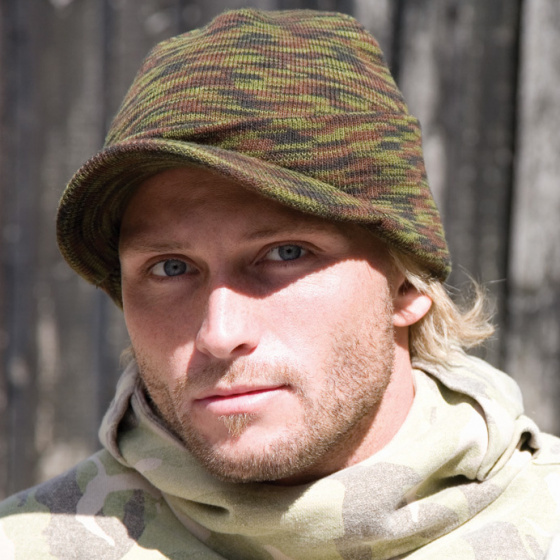 Camouflage cap - TRACLET