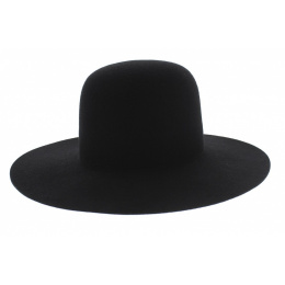 Marc Veyrat Child Hat Black Wool Felt - Traclet