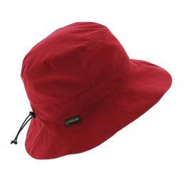 Red rain hat - Gore tex