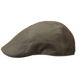 Casquette Texas Cotton imperméable marron - Stetson