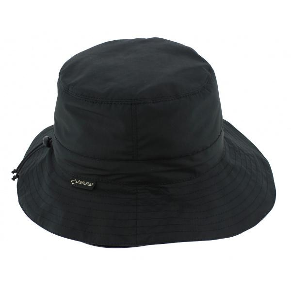 Chapeau Traveller Narrows Gore-Tex Noir - Seeberger