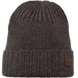 Black knit lapel cap The Ellis