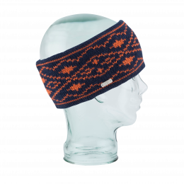 The Whatcom Double Marine Polar Fleece Headband - Coal