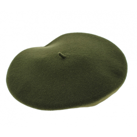 Beret Amboise green - Laulhère