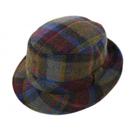 Chapeau Trilby Berlin Style Tweed Laine - Crambes
