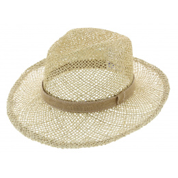 Chapeau Fedora Gardener Paille - Traclet