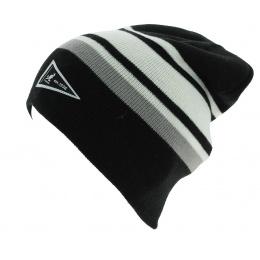 Bonnet Long Réversible Slouch Acrylique Noir - Kangol