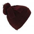Bonnet The Uniforme burgundy Coal
