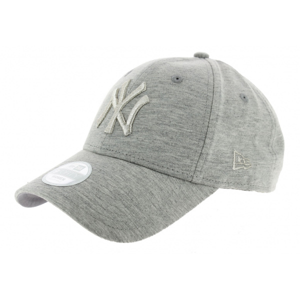 Strapback Tech Jersey Cap Grey