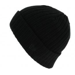 Bonnet Mixte Essential Cuff Acrylique Gris - New Era