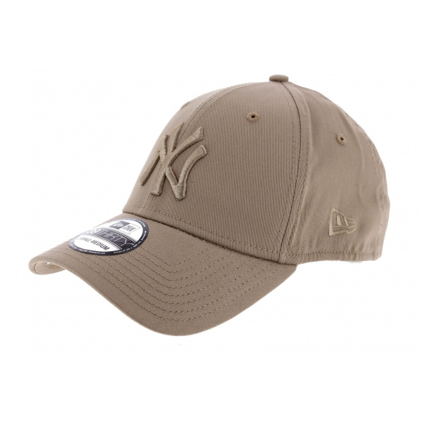 Casquette Fitted Essential NY Coton Beige - New Era