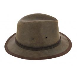 Chapeau traveller cuir