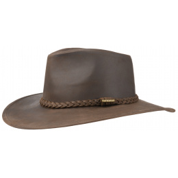 Annville Leather Stetson Brown Hat