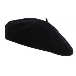 Beret basque bilbao noir