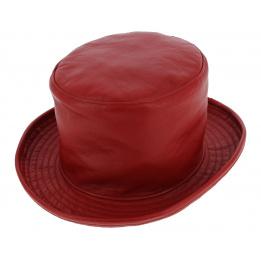 Chapeau haut de forme cuir