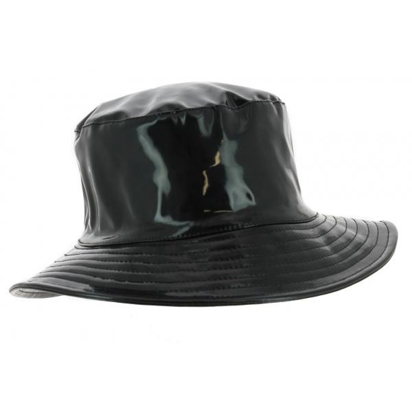 Chapeau Bob Imperméable Anael Noir - Traclet