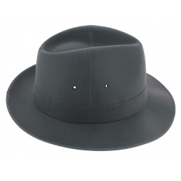 Sylvain Cotton Grey Traveller Hat - Crambes