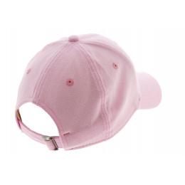 Pink Cotton Jersey Strapback Cap - New Era