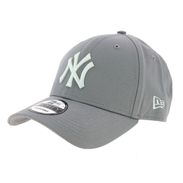 Real Baseball Cap New-York Grey New-York - New Era