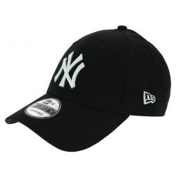 Véritable Casquette Baseball New-York Noire - New Era