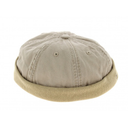 bonnet miki James coton beige