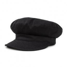 Fiddler Unstructured Cotton Navy Cap Black - Brixton