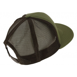 Casquette Trucker The Wilds Coton Kaki & Maron - Coal