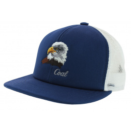 Casquette Trucker The Wilds Coton Bleu & Blanc - Coal